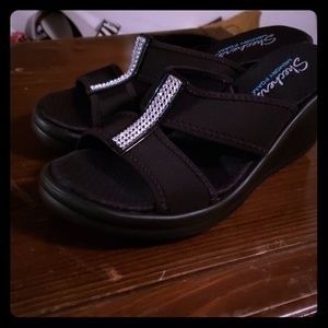Skechers Memory Foam BLING Sandals